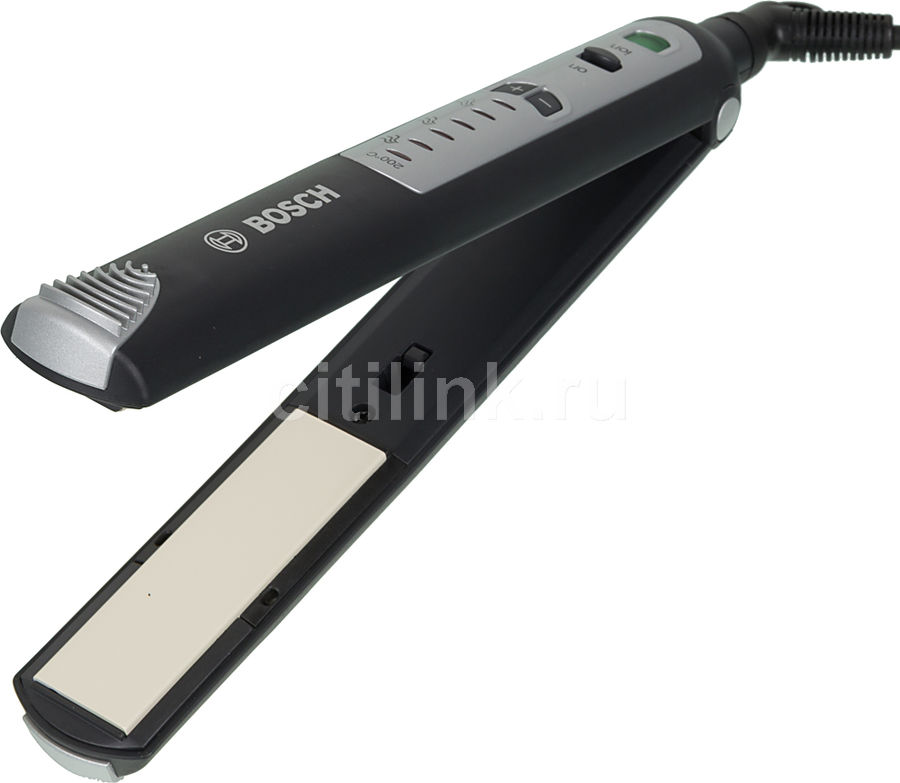 Выпрямитель для волос BOSCH PHS2560,  черный