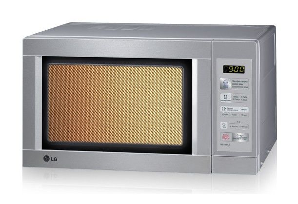 Микроволновая печь LG MS1944JL, серебристый