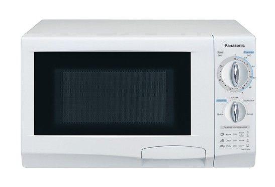 Микроволновая печь PANASONIC NN-S215WFZ, белый