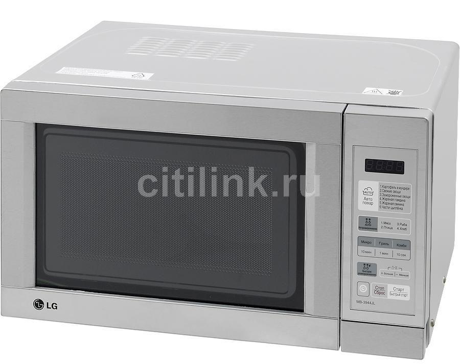 Микроволновая печь LG MB-3944JL, серебристый