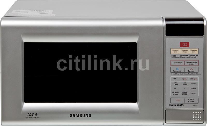 Микроволновая печь SAMSUNG PG832RS, серебристый