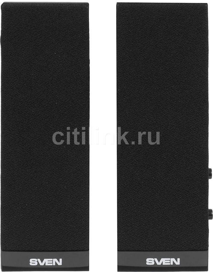 Колонки SVEN 230,  2.0,  черный