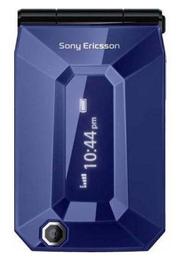 Мобильный телефон SONYERICSSON F100 Jalou  синий