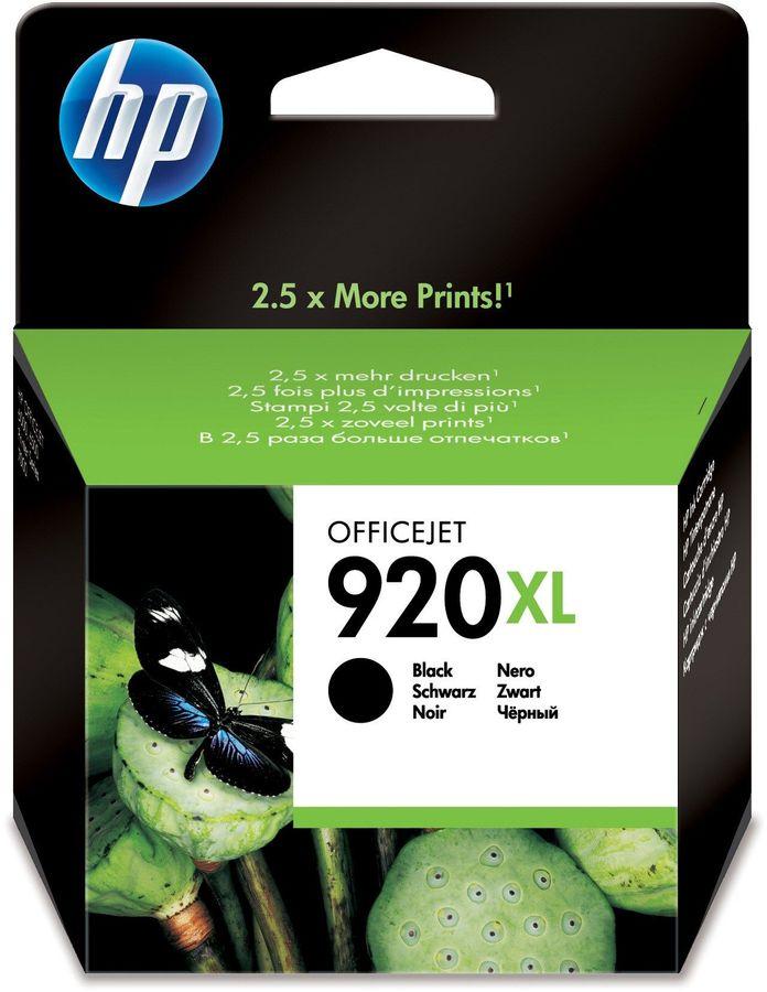Картридж HP 920XL черный [cd975ae]