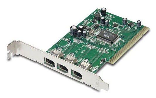 Контроллер PCI-E Acorp 4xIEEE1394(4p) OEM