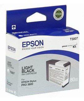 Картридж EPSON T5807 серый [c13t580700]