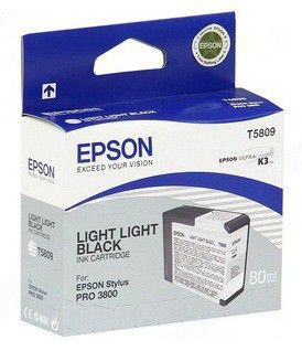 Картридж EPSON T5809 светло-серый [c13t580900]