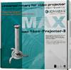 Кронштейн KROMAX PROJECTOR-2,   для проектора,  10кг,  серый вид 3