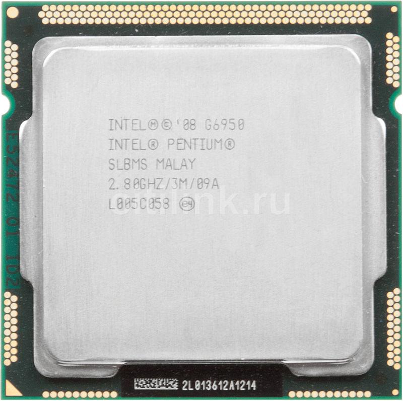 Процессор INTEL Pentium Dual-Core G6950, LGA 1156 [cm80616004593aes lbms]