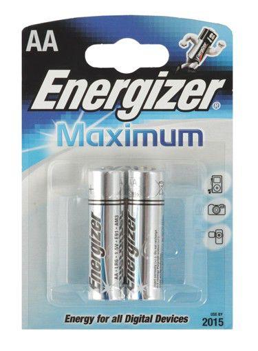 Батарея ENERGIZER Maximum LR6,  2 шт. AA