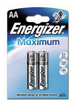 Батарея ENERGIZER Maximum LR6,  4 шт. AA