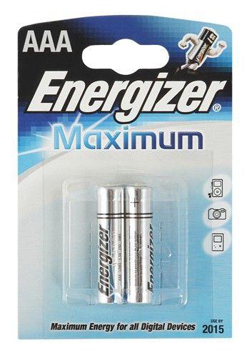 Батарея ENERGIZER Maximum LR03,  2 шт. AAA