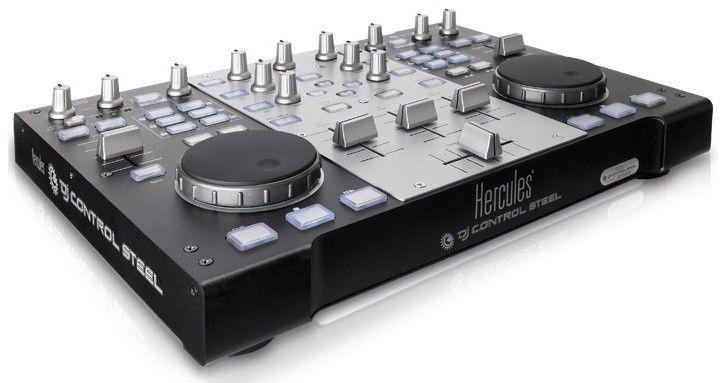 Музыкальный пульт HERCULES DJ control Steel