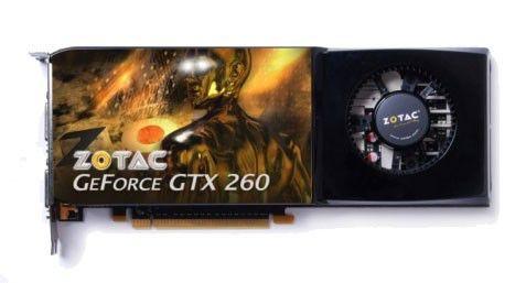 Видеокарта ZOTAC GeForce GTX 260,  896Мб, DDR3, Ret [zt-x26e3kg-fdr]