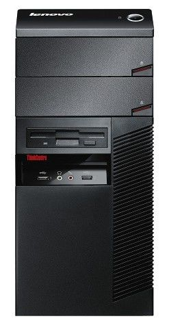 LENOVO ThinkCentre A58,  Intel  Pentium Dual-Core  E5400,  DDR2 2Гб, 250Гб,  Intel GMA X4500,  DVD-RW,  Windows 7 Professional,  черный [smm7aru]