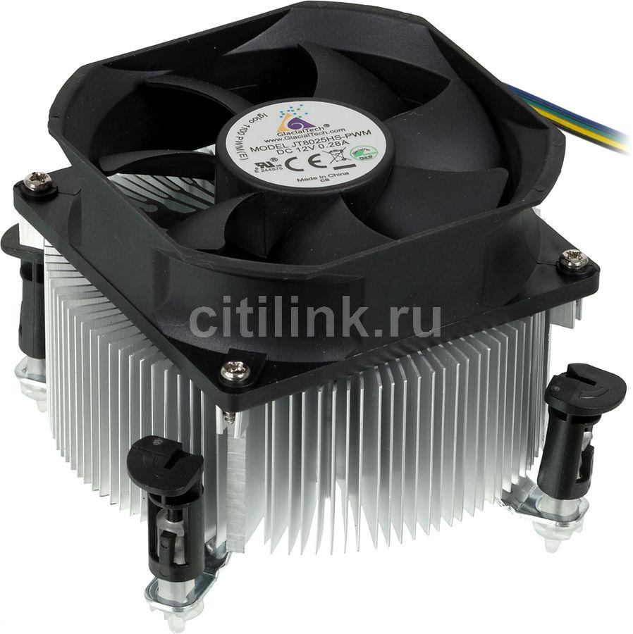 Устройство охлаждения(кулер) GLACIALTECH Igloo 1100 PWM (E),  80мм, Ret