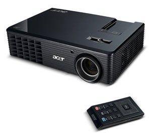 Проектор ACER X110 черный [ey.k0101.059]
