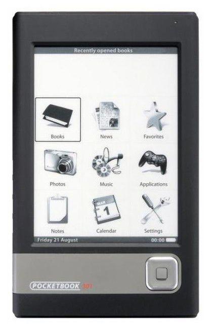 Электронная книга POCKETBOOK 301 Plus,  6