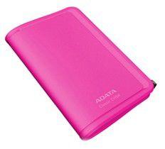 Внешний жесткий диск A-DATA ACH94-250GU-CPK, 250Гб, розовый