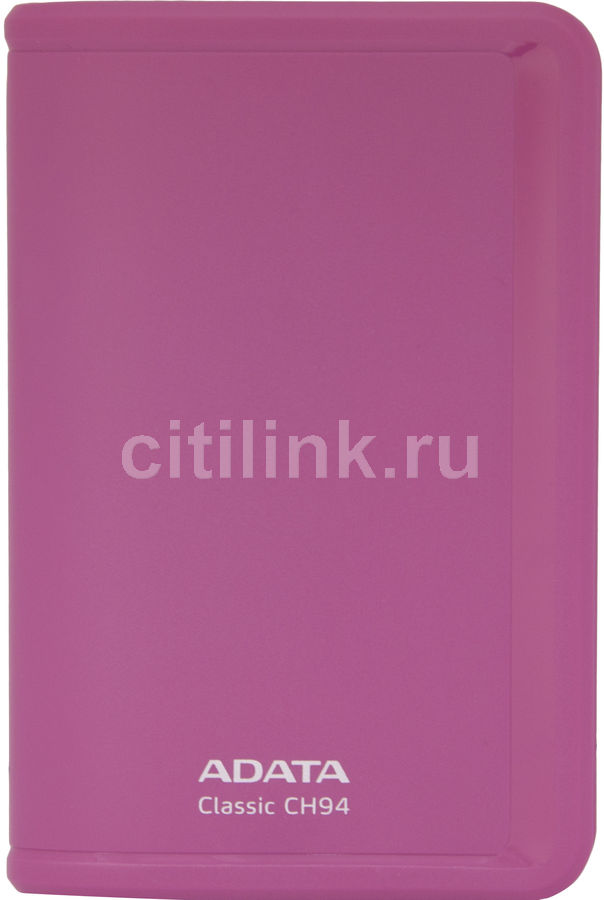 Внешний жесткий диск A-DATA Classic CH94, 640Гб, розовый [ach94-640gu-cpk]