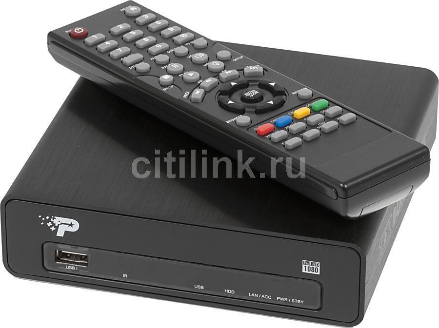 Медиаплеер PATRIOT PCMPBO25-EU,  черный