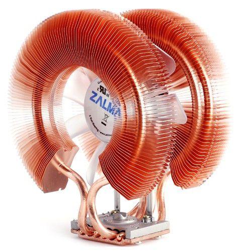 Устройство охлаждения(кулер) ZALMAN 9900A LED,  120мм, Ret