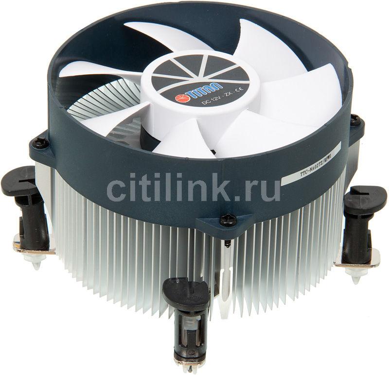 Устройство охлаждения(кулер) TITAN TTC-NA02TZ/RPW1,  95мм, Ret
