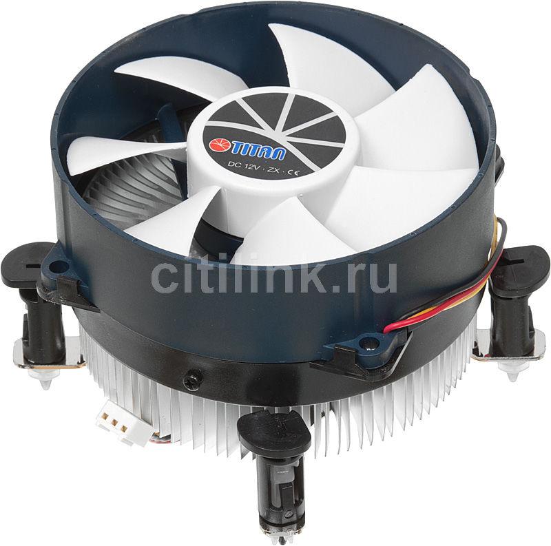 Устройство охлаждения(кулер) TITAN TTC-NA12TZ/R,  95мм, Ret
