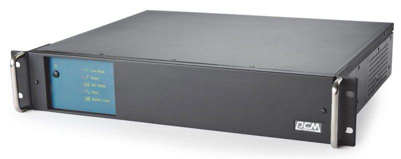 Источник бесперебойного питания POWERCOM King Pro RM KIN-1200AP RM, 1200ВA [kin-1200ap rm (2u) usb, rs-232]