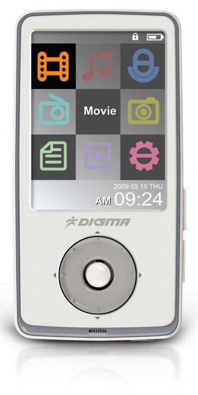 MP3 плеер DIGMA Insomnia2 flash 16Гб белый [insomnia2 16 white]