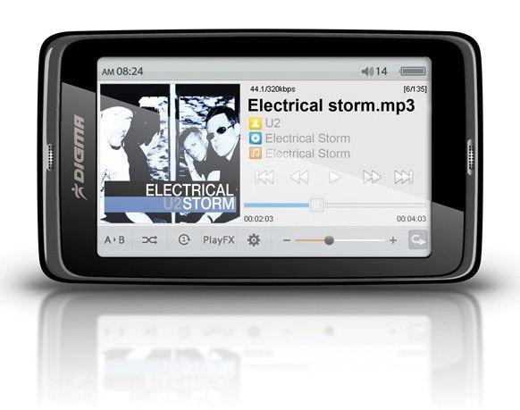 MP3 плеер DIGMA Insomnia3 flash 16Гб черный [insomnia3 16 black]