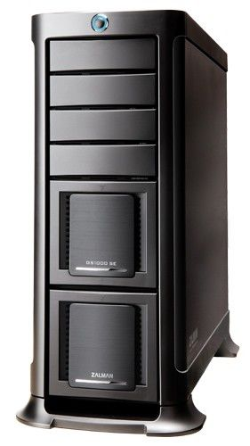 Корпус E-ATX ZALMAN GS1000SE, Full-Tower, без БП,  черный