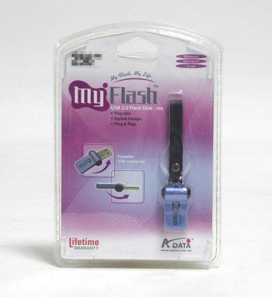 Флешка USB A-DATA Classic PD0 1Гб, USB2.0, голубой