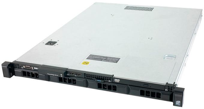Сервер Dell PE R410 2xE5520 2.26/12G(6x2 1.3K 2R RDIM)/SAS 3.5 4x300 15K/DVDRW/PERC6i/RPS/iDR6En/3YP [210-27986]