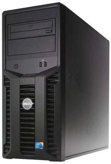Сервер Dell PE T110 X3450 2.66/4G(4x1 1.06K 1R UDIM)/SATA 3.5 4x500G  7.2K/RW/iD6Em/PH200/3Yr NBD [210-30055]