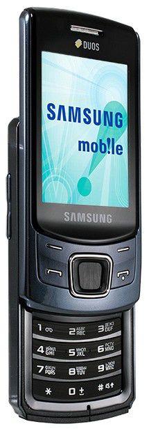 Мобильный телефон SAMSUNG Duos GT-C6112  синий