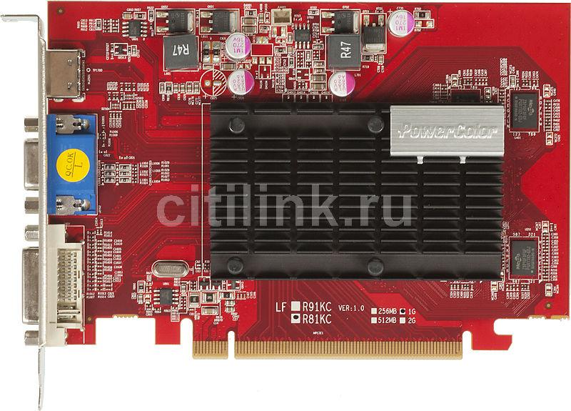 Видеокарта POWERCOLOR AMD  Radeon HD 5450 ,  1Гб, DDR3, oem [ax5450 1gbk3-shv2]
