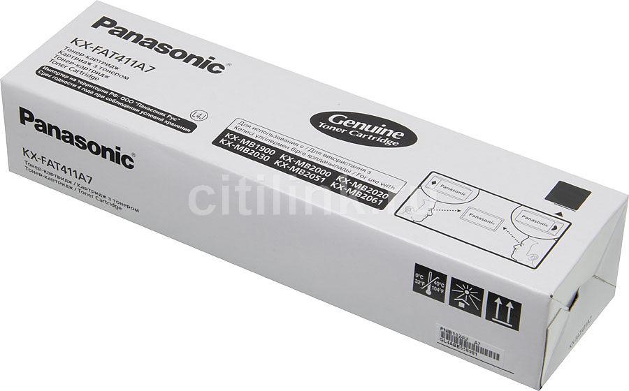 Картридж PANASONIC KX-FAT411A7 черный