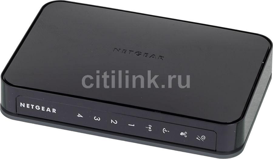Беспроводной роутер NETGEAR JWNR2000-100RUS,  черный