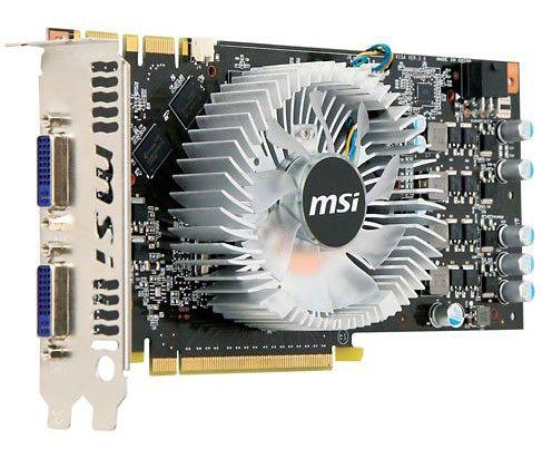 Видеокарта MSI GeForce GTS 250,  512Мб, DDR3, Ret [n250gts-2d512]