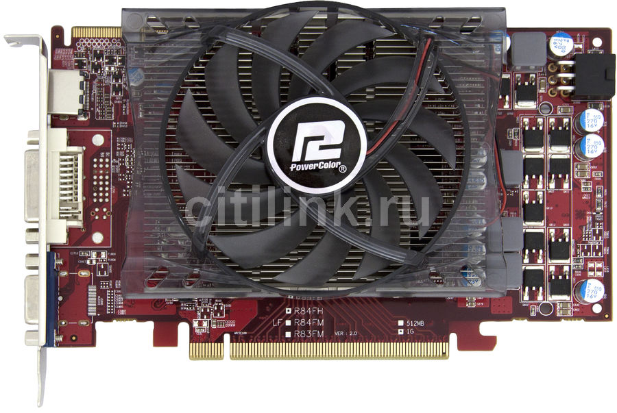 Видеокарта POWERCOLOR Radeon HD 5770,  1Гб, GDDR5, Ret [ax57701gbd5-h]