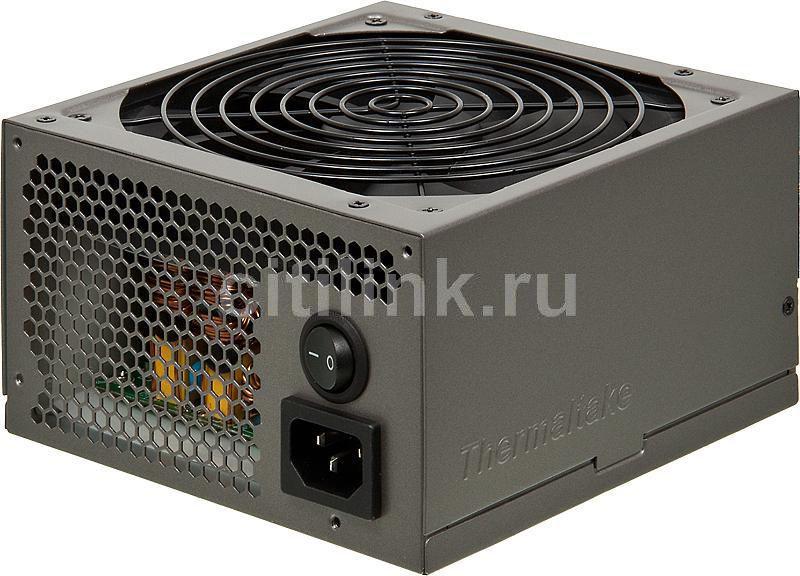 Блок питания Thermaltake ATX 750W TRX-750MPCEU 80+ APFC, 140mm fan, Cab Manag, RTL (отремонтированный)