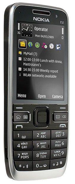 Смартфон NOKIA E52  черный