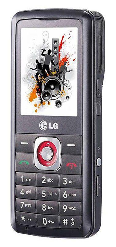 Мобильный телефон LG GM 200  черный
