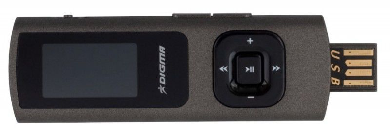 MP3 плеер DIGMA MP610 flash 4Гб черный [mp610 4gb b]