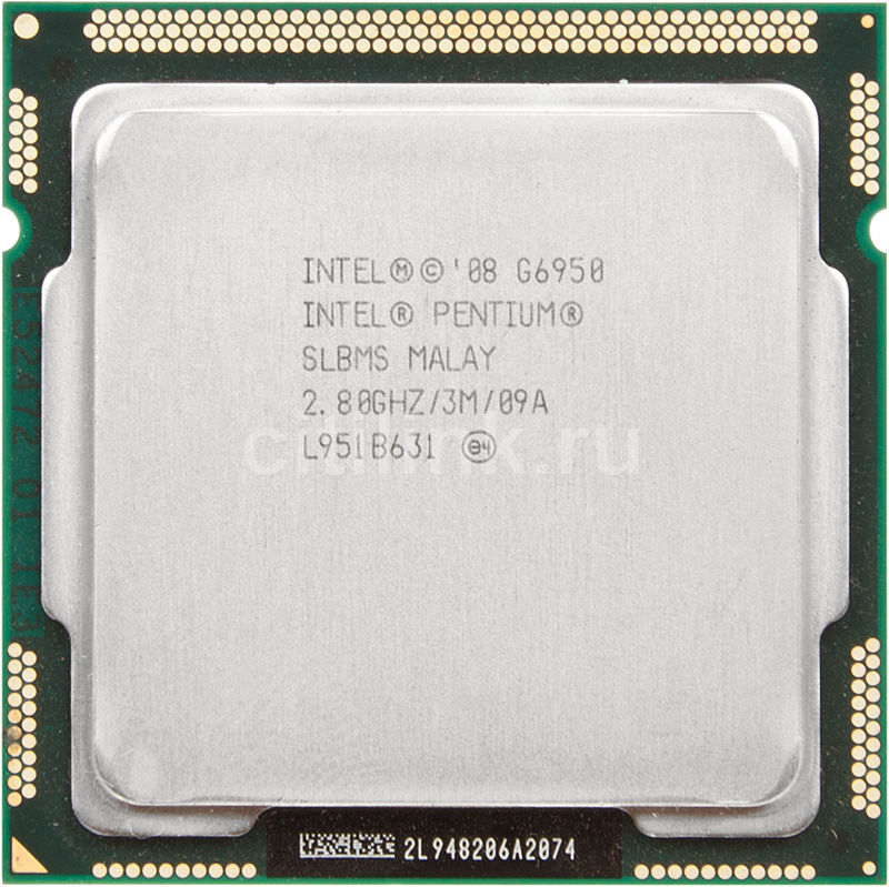 Процессор INTEL Pentium G6950, LGA 1156 OEM