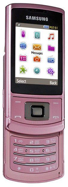 Мобильный телефон SAMSUNG GT-S3500  розовый