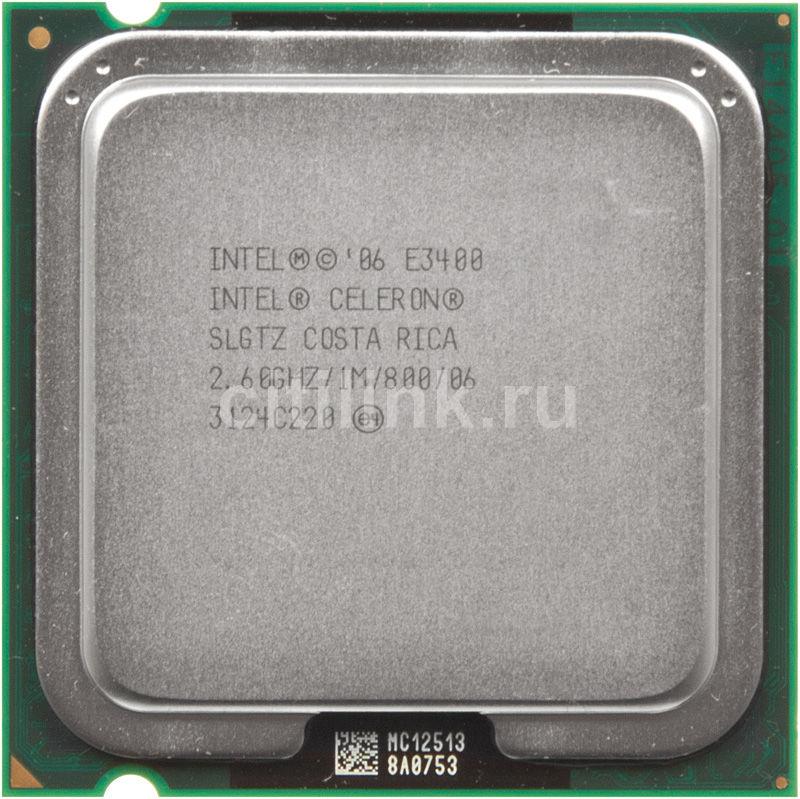 Процессор INTEL Celeron E3400, LGA 775 OEM [cpu intel slga775 e3400 oem]