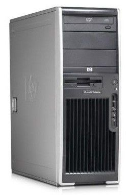 HP xw4600,  Intel  Core2 Duo  E8400,  DDR2 2Гб, 250Гб,  DVD-RW,  Windows 7 Professional,  серый [kk572ea]