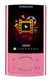 MP3 плеер SAMSUNG YP-R0AP flash 4Гб розовый [yp-r0ap/xer]